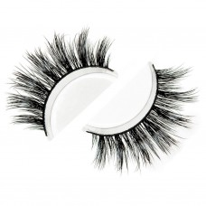 Siberian Real Mink Eyelashes Strip Lashes - MONACO For Lilly