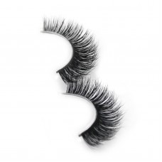 Siberian Real Mink Eyelashes Strip Lashes - Regina