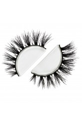 Siberian Real Mink Eyelashes Strip Lashes - CANNES For Lilly