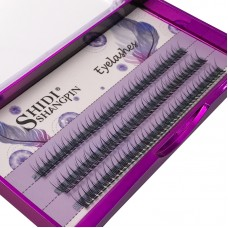 Shidi Shangpin 0.10C Grafted Eyelashes, Fishtail Hairy Eyelashes, Stage Nightclub Planting Curly Eyelashes