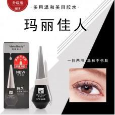 Mary beauty 208 black cover multi-purpose beautiful eye glue double eyelid stickers false eyelash glue glue strip wholesale