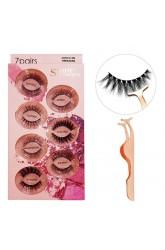 Shidi Shangpin 7 pairs of mixed false eyelashes mink three-dimensional eyelashes Amazon hot set