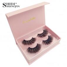 Shidi Shangpin 3d mink false eyelashes 2 pairs set cross-border hot-selling thick eyelashes new product #8
