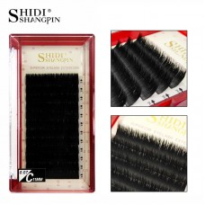 One second flowering and grafting eyelashes 3D imitation mink hair curling silk false eyelashes automatically blooming [new red box]