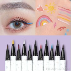 Fei Xi Color Eyeliner Net Red Hot Eyeliner Waterproof Quick-drying Liquid Eyeliner Novice Female