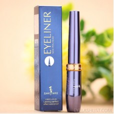 Easy to draw liquid eyeliner pen long lasting waterproof and non-smudge soft black quick-drying pointed liquid eyeliner