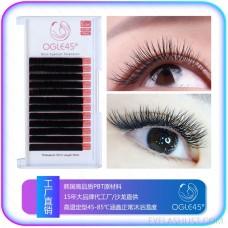 OGLE45° Lashes Mink Tray Eyelash Extensions J, B, C, D Curl Individual Silk Lash
