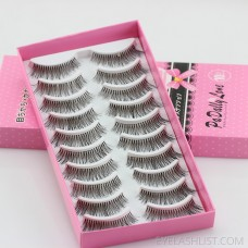 001 Export false eyelashes US hot sale style messy natural style soft white cotton thread stalk amazon small ebay