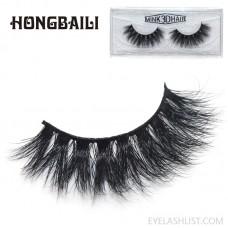 3D mink false eyelashes three-dimensional multi-layer thick cross eyelashes amazon source eyelashes mink