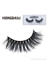 3D mink false eyelashes three-dimensional multi-layer thick cross eyelashes amazon source eyelashes mink