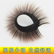 amazon direct manual grafting close row eyelashes bloom in one second eyelashes camellia single eyelashes