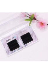 amazon double layer W-shaped blooming, grafting eyelashes, blooming in one second, W-shaped soft and thick, zero touch