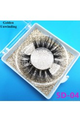 Wish Hongchang false eyelashes factory natural 3D mink false eyelashes from stock