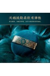 Huaxizi Furong Yingxue honey powder puff/velvet loose powder set makeup dry puff does not eat powder makeup tool
