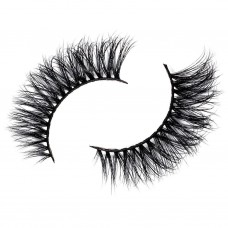 Siberian Real Mink Eyelashes Strip Lashes - ALINA For Lilly