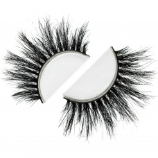 Siberian Real Mink Eyelashes Strip Lashes - VEGAS For Lilly