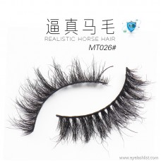 False eyelashes black handmade horse eyelashes messy thick eyelashes makeup styling eyelashes wholesale