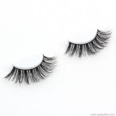 3D multi-layered high-water mink false eyelashes D series handmade pair of cross-natural eyelashes