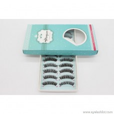 Dingsen false eyelashes manufacturers wholesale coffee color eyelashes fish line 10 pairs of popular beauty makeup H88 large custom