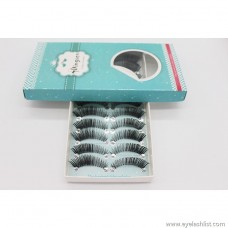 Dingsen false eyelashes manufacturers wholesale H91 eye tail thick eyelashes 10 pairs of popular beauty tools can be customized