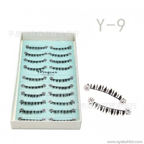 49ed52aac08 False eyelashes manufacturers wholesale handmade cotton stalks under the  eyelashes tip Y-9 pop beauty tools ...