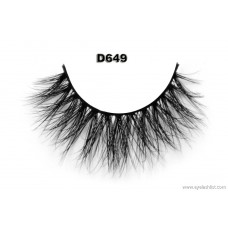 False eyelashes manufacturers supply 3D mink hair false eyelashes thick false eyelashes handmade false eyelashes