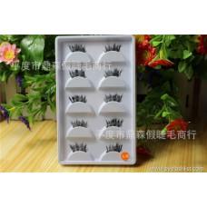 False eyelashes wholesale manufacturers Half eyelashes Five pairs of boutique Customized LOGO Popular makeup tools A38