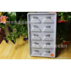 False eyelashes manufacturers wholesale half eyelashes five pairs of boutique A37 popular beauty tools custom LOGO