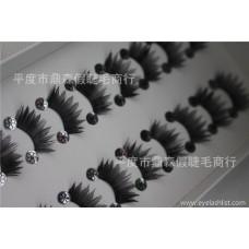 False eyelashes manufacturers wholesale half eyelashes 10 pairs of H34 large amount of customizable LOGO popular beauty tools