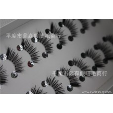 Factory wholesale half eyelashes H39 fish line stem 10 pairs of popular beauty tools large amount can be customized packaging