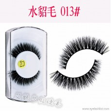 013 wholesale high-grade natural water hair false eyelashes Europe and the United States hot new thick handmade