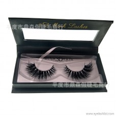 DINGSEN false eyelashes manufacturers wholesale 3D three-dimensional water mink eyelashes simulation eyelashes a pair of custom packaging
