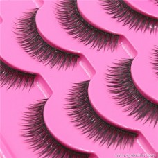 No. 1 5 pairs of boxed false eyelashes Korea's high-grade imported materials Natural fiber long fake eyelashes wholesale
