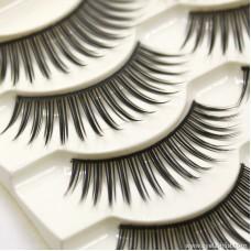 Factory direct false eyelashes Cotton thread stem pure hand-eye eyelashes Natural nude makeup long eyelashes