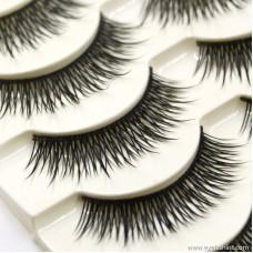 New fashion nude makeup natural long thick eyelashes handmade handmade false eyelashes factory direct