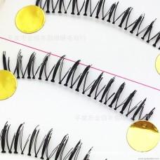 K51 lower eyelashes natural pure handmade false eyelashes cute transparent stems Europe and the original single eyelashes manufacturers wholesale