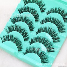 L11 cotton line hot sale explosions Japanese messy models 5 pairs of false eyelashes manufacturers wholesale general packaging can be OEM