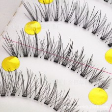 F28 Japanese eye extension is long, natural length, pure hand-simulated false eyelashes, factory wholesale high quality
