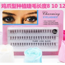Chicken claw planting grafting false eyelashes soft and easy to graft outside single export hot eye eyelash grafting