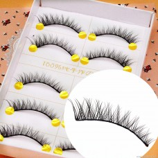 E30 manufacturers wholesale false eyelashes Japanese 5 pairs of hardcover eye tail lengthened thick cross messy exaggerated explosion