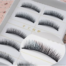 E23 false eyelashes Japanese 5 pairs loaded thick cross messy exaggerated explosions manufacturers high quality low price wholesale