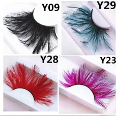 Hairy feathers multicolor optional exaggerated ball stage makeup photo studio Halloween Europe and the United States popular manufacturers wholesale