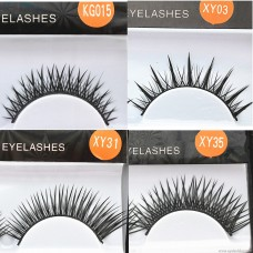 Single-pair mechanism Acrylic false eyelashes Stage natural long-sleeved hands-on pair of eyelashes manufacturers wholesale