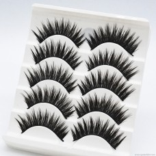 GF13 mechanism hard stem cross messy 5 pairs of thick false eyelashes export outside a single source of quality manufacturers wholesale