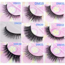 Single pair of water mink false eyelashes boutique Foreign trade Europe and America export eyelashes Manufacturers wholesale support OEM