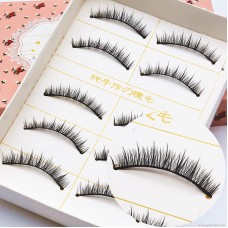 E09 mechanism explosion models false eyelashes Smart natural cute short eyelashes Manufacturers wholesale support customized