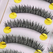 075 ten pairs of dense short paragraph supernatural false eyelashes cross office workers love models manufacturers shipped wholesale