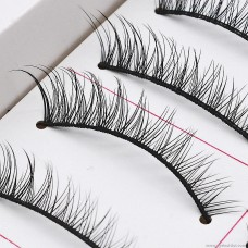 033 mechanism hard stem false eyelashes can hold up double eyelids eyelashes eye tail lengthening natural nude makeup manufacturers batch