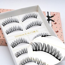 E17 false eyelashes Japanese 5 pairs of natural crossover messy exaggerated explosions manufacturers high quality low price batch