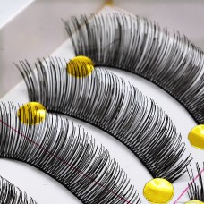 023 thick and long Taiwanese handmade false eyelashes Factory direct wholesale eyelashes high-end exaggerated